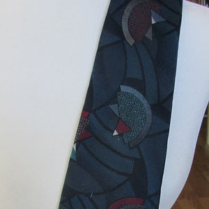Abstract Halston III necktie, tie